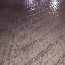 diamond cut floor grooving
